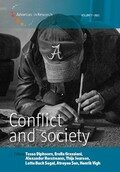 Cover Conflict and Society