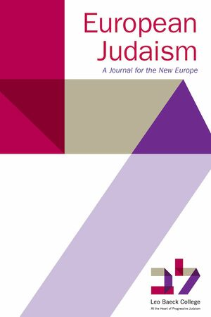 Cover European Judaism