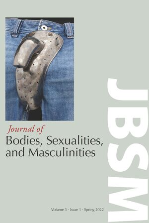 Cover Journal of Bodies, Sexualities, and Masculinities