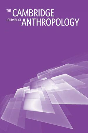 Cover The Cambridge Journal of Anthropology
