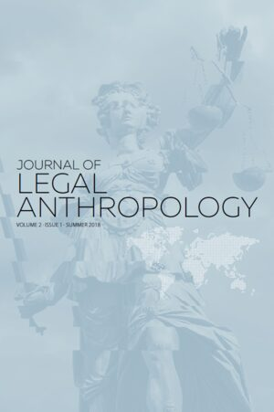 Cover Journal of Legal Anthropology