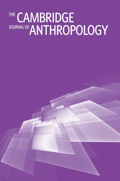 The Cambridge Journal of Anthropology